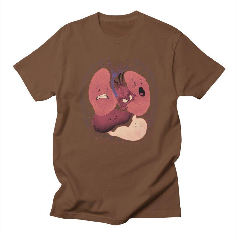 Heart Attack Men's T-Shirt by Dooomcat