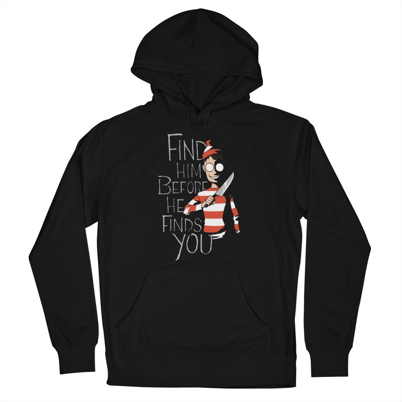 Hiding in the Dark Men's Pullover Hoody by Dooomcat