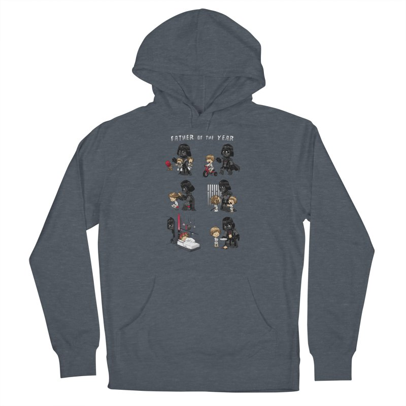 Father of the Year Men's French Terry Pullover Hoody by Dooomcat