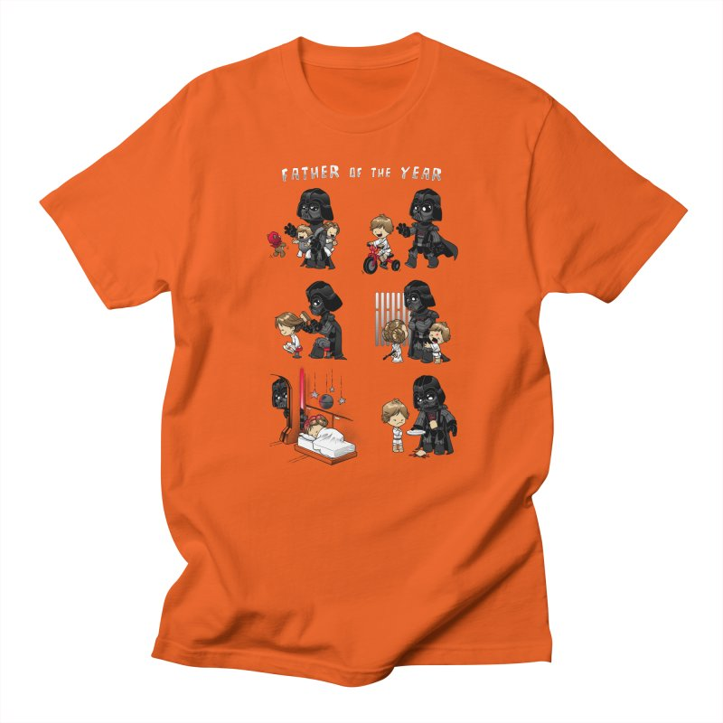 Father of the Year Men's T-shirt by Dooomcat