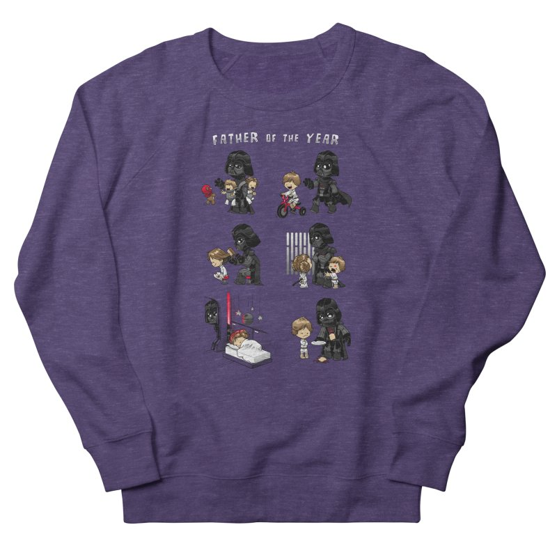 Father of the Year Men's French Terry Sweatshirt by Dooomcat