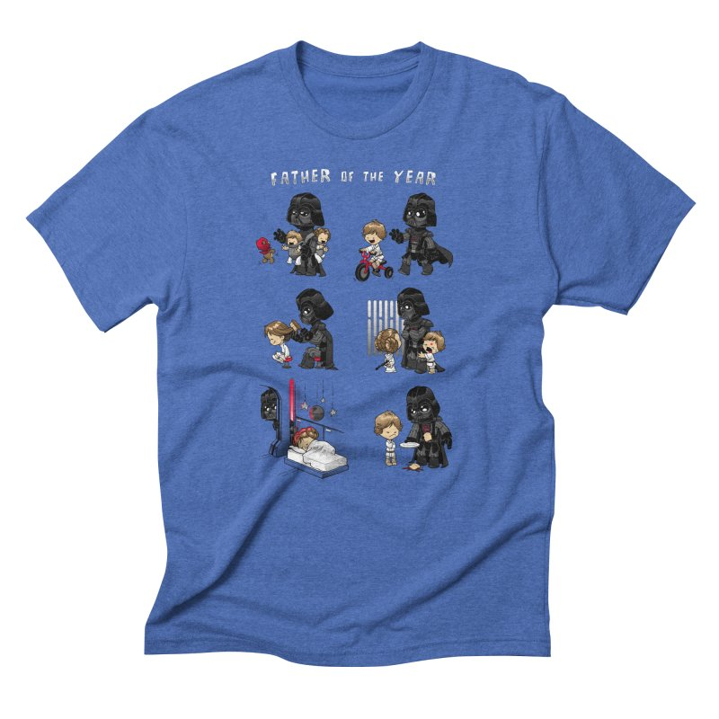 Father of the Year Men's Triblend T-Shirt by Dooomcat