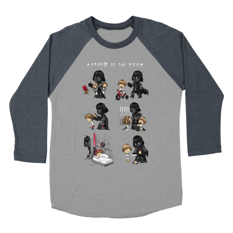 Father of the Year Men's Baseball Triblend Longsleeve T-Shirt by Dooomcat