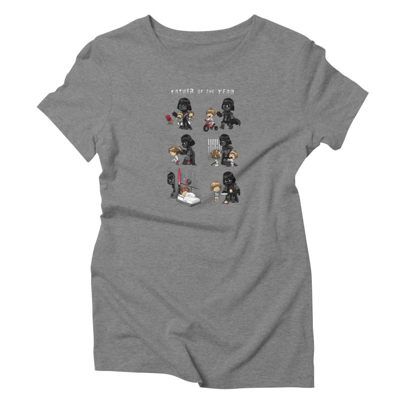 Father of the Year Women's T-Shirt by Dooomcat