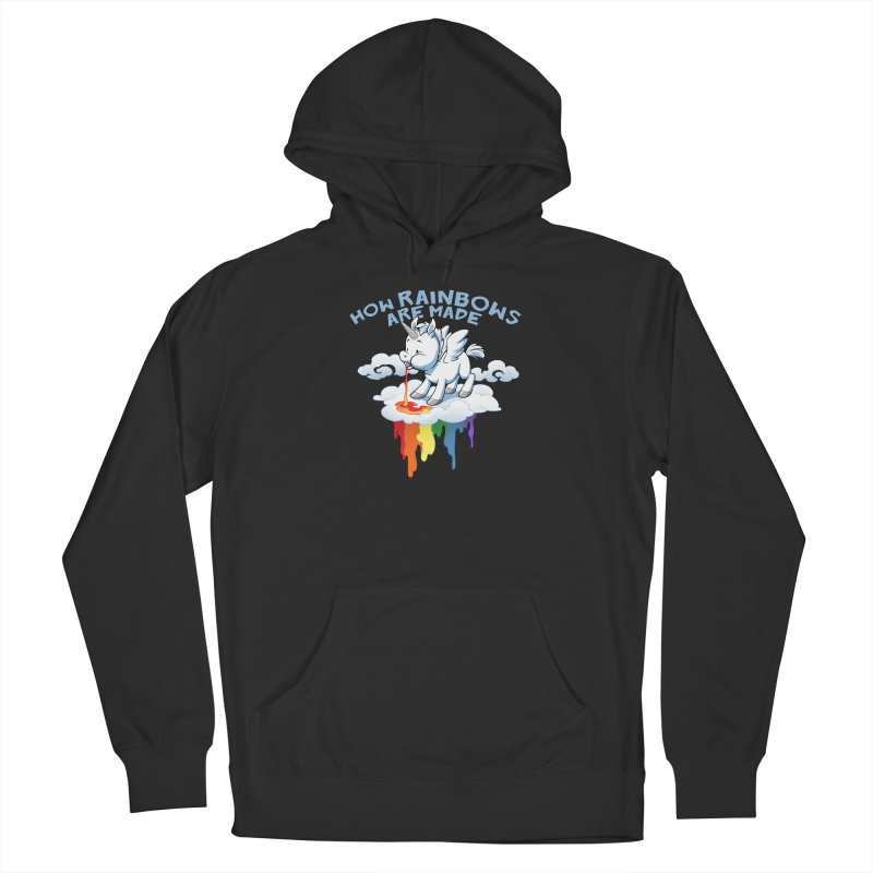 Rainblows Men's French Terry Pullover Hoody by Dooomcat