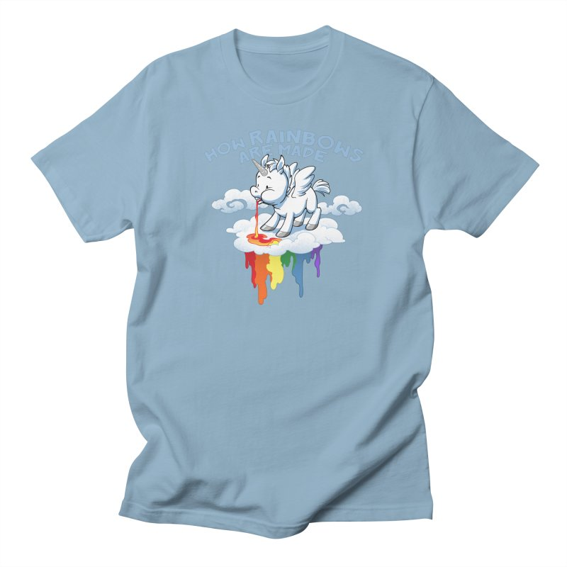 Rainblows Men's Regular T-Shirt by Dooomcat