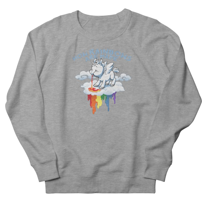 Rainblows Men's French Terry Sweatshirt by Dooomcat