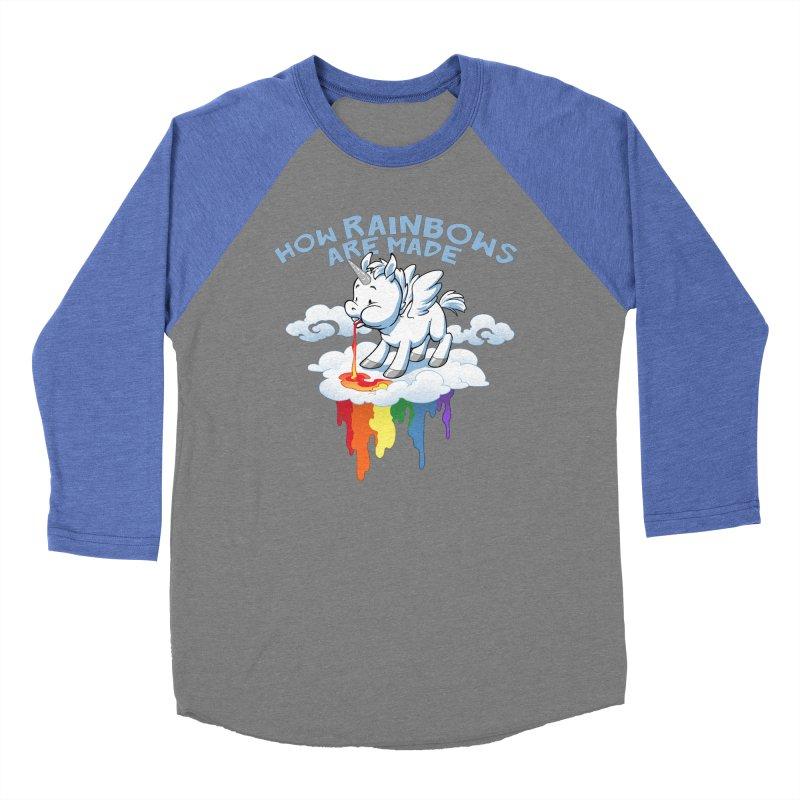 Rainblows Men's Baseball Triblend T-Shirt by Dooomcat