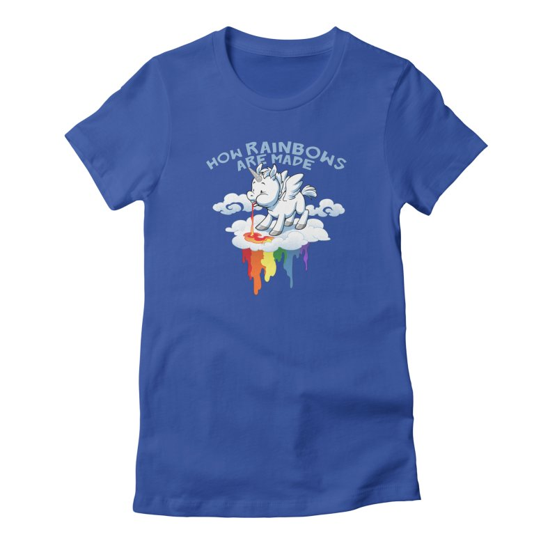 Rainblows Women's Fitted T-Shirt by Dooomcat