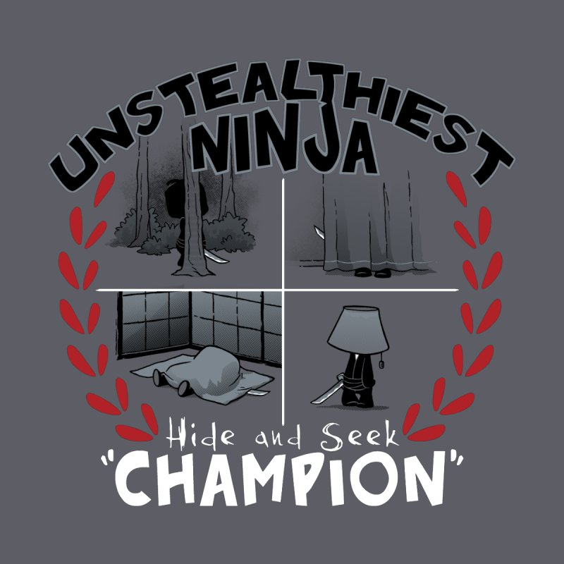 Unstealthiest Ninja Men's T-Shirt by Dooomcat