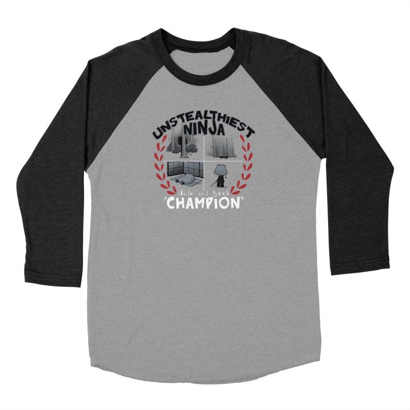 Unstealthiest Ninja Men's Longsleeve T-Shirt by Dooomcat