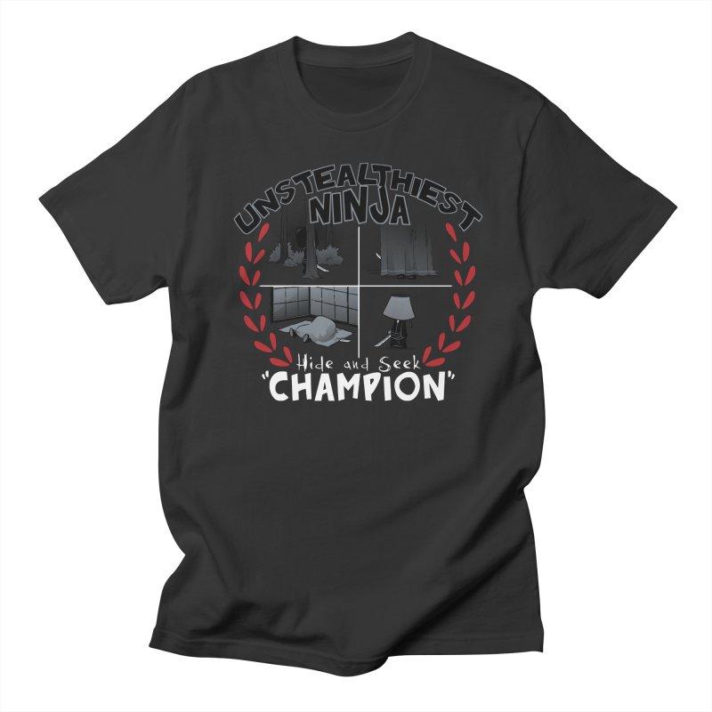 Unstealthiest Ninja Men's Regular T-Shirt by Dooomcat
