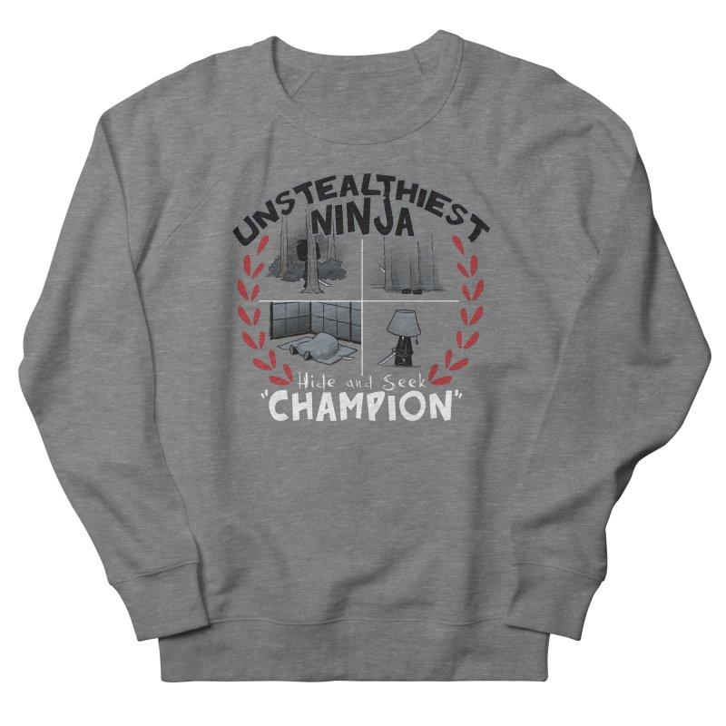 Unstealthiest Ninja Men's French Terry Sweatshirt by Dooomcat