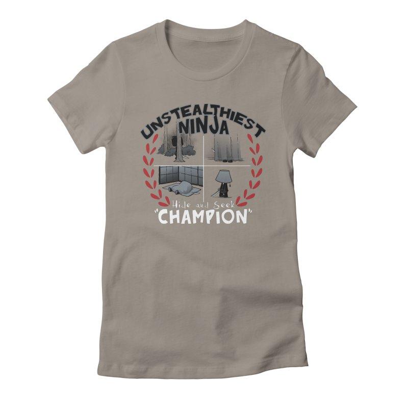Unstealthiest Ninja Women's T-Shirt by Dooomcat