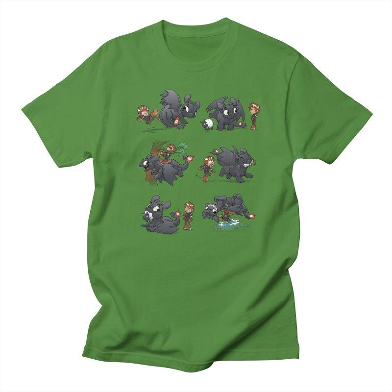 How Not to Train Your Dragon Men's Regular T-Shirt by Dooomcat