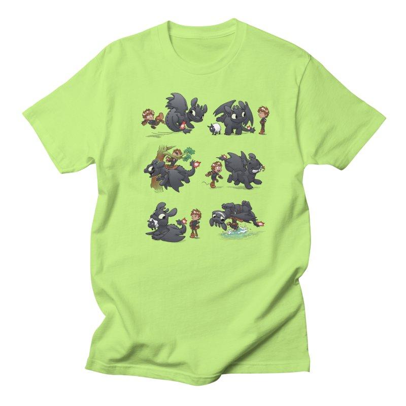 How Not to Train Your Dragon Men's T-Shirt by Dooomcat