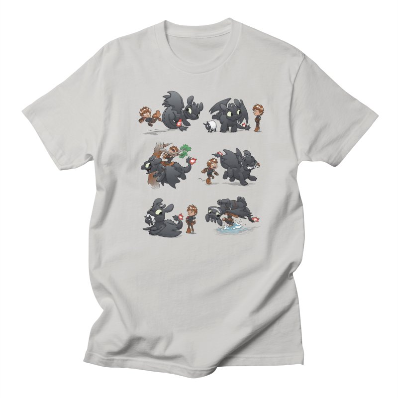 How Not to Train Your Dragon Men's Regular T-Shirt by Dooomcat