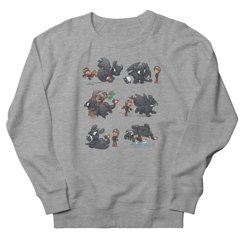 How Not to Train Your Dragon Women's French Terry Sweatshirt by Dooomcat