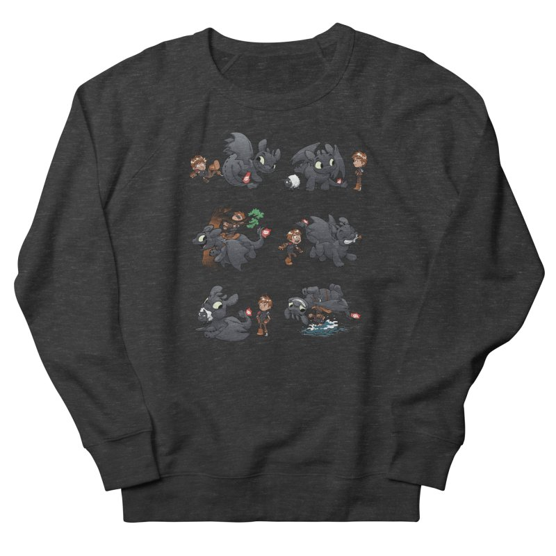How Not to Train Your Dragon Men's French Terry Sweatshirt by Dooomcat