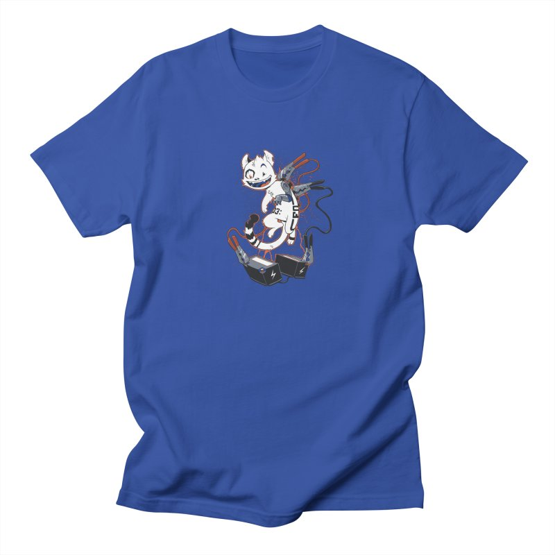 Cybercat Men's Regular T-Shirt by Dooomcat