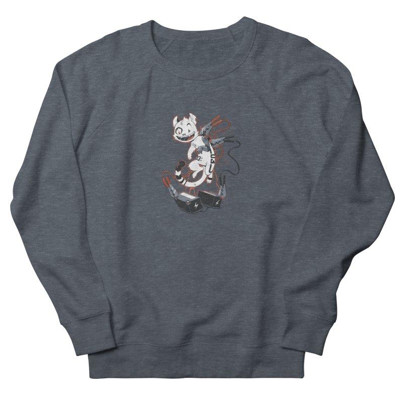 Cybercat Men's French Terry Sweatshirt by Dooomcat