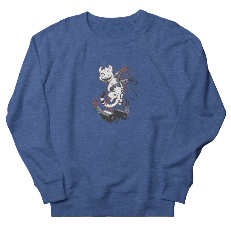 Cybercat Men's French Terry Sweatshirt by Dooomcat