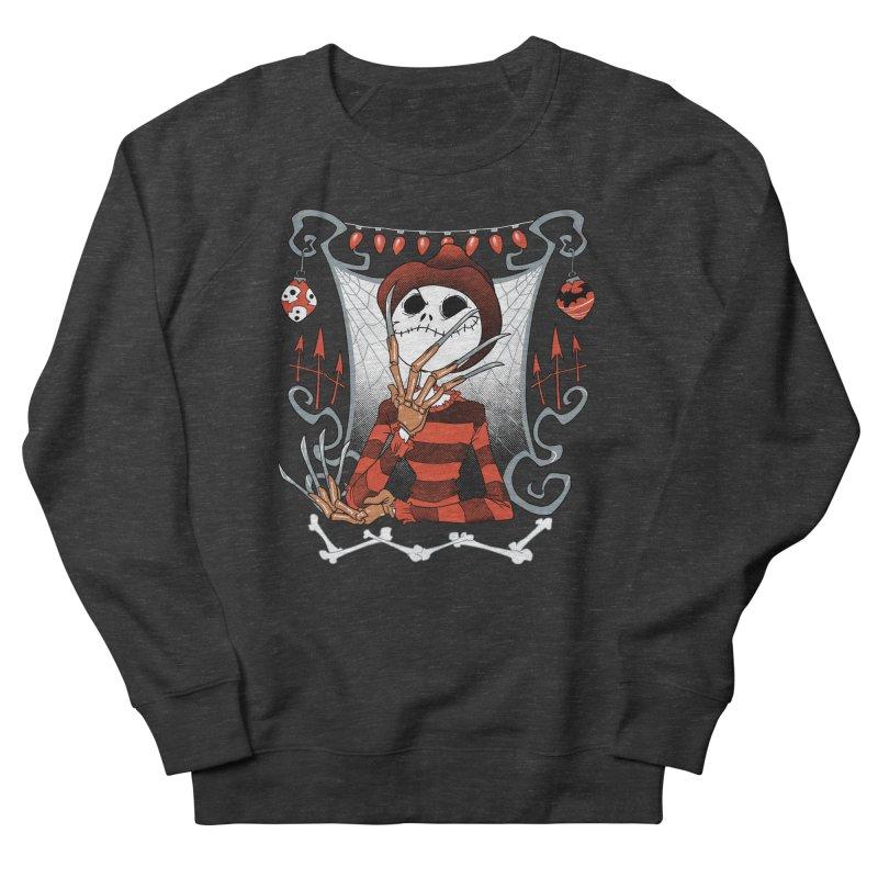 The Nightmare King Men's French Terry Sweatshirt by Dooomcat