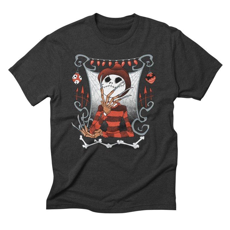 The Nightmare King Men's Triblend T-Shirt by Dooomcat