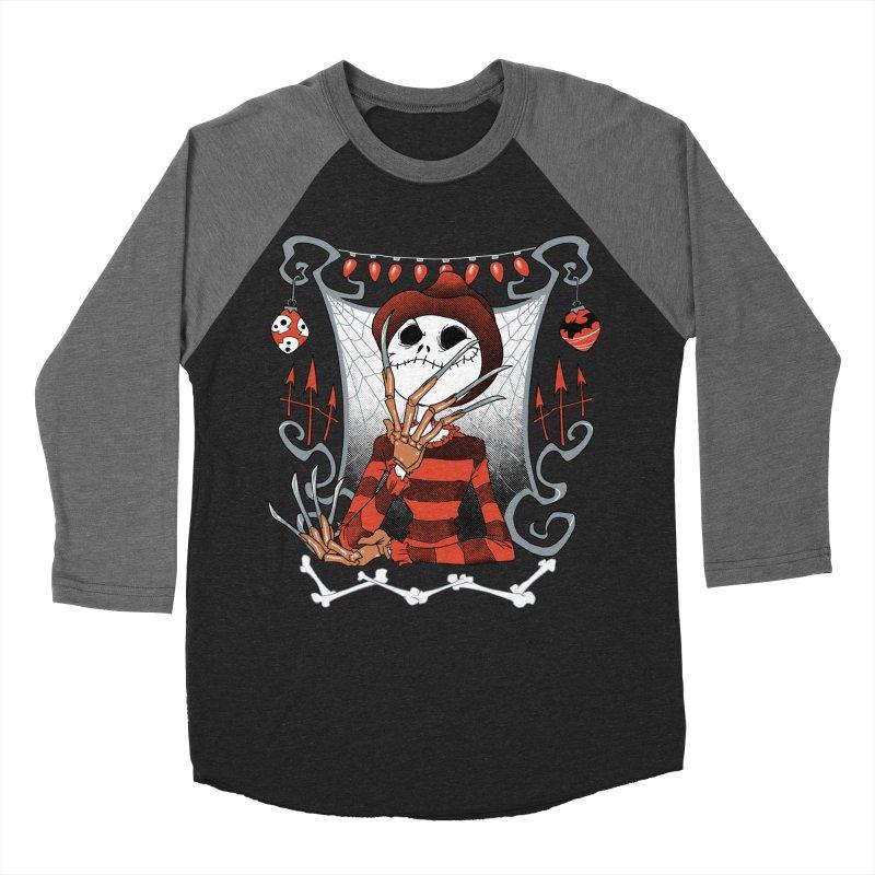 The Nightmare King Men's Baseball Triblend Longsleeve T-Shirt by Dooomcat