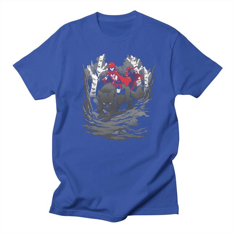 Red Men's Regular T-Shirt by Dooomcat