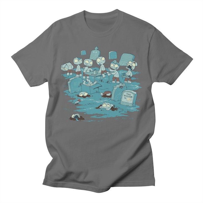 The Bodyshop Men's T-Shirt by Dooomcat