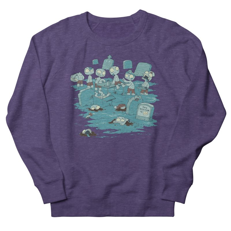 The Bodyshop Men's French Terry Sweatshirt by Dooomcat
