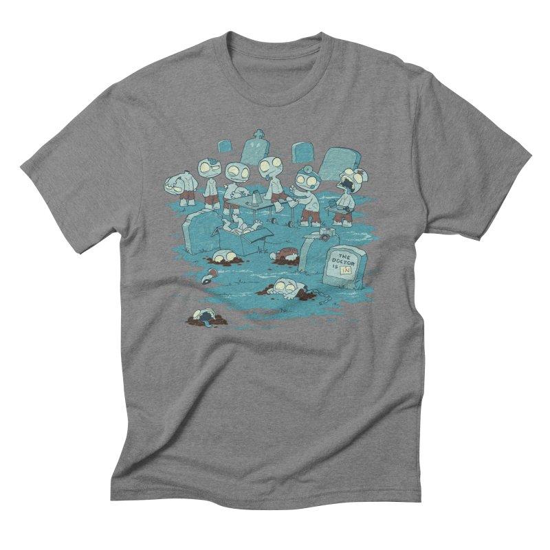 The Bodyshop Men's Triblend T-Shirt by Dooomcat