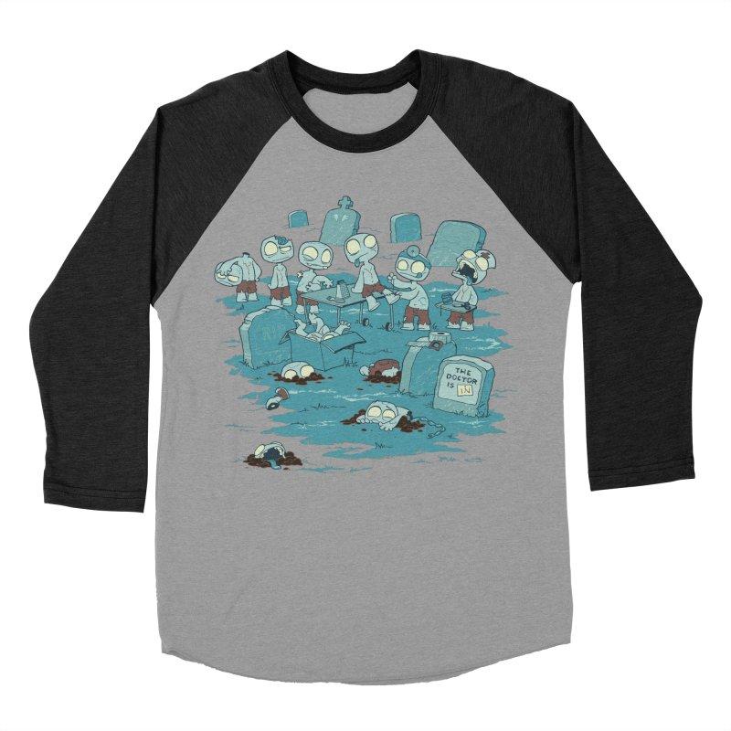 The Bodyshop Men's Baseball Triblend T-Shirt by Dooomcat