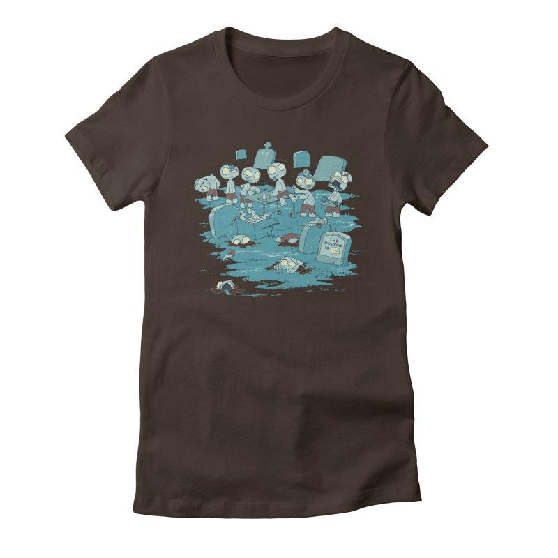 The Bodyshop Women's T-Shirt by Dooomcat