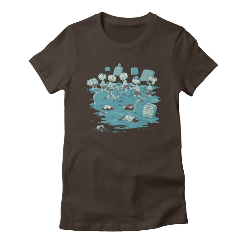 The Bodyshop Women's Fitted T-Shirt by Dooomcat