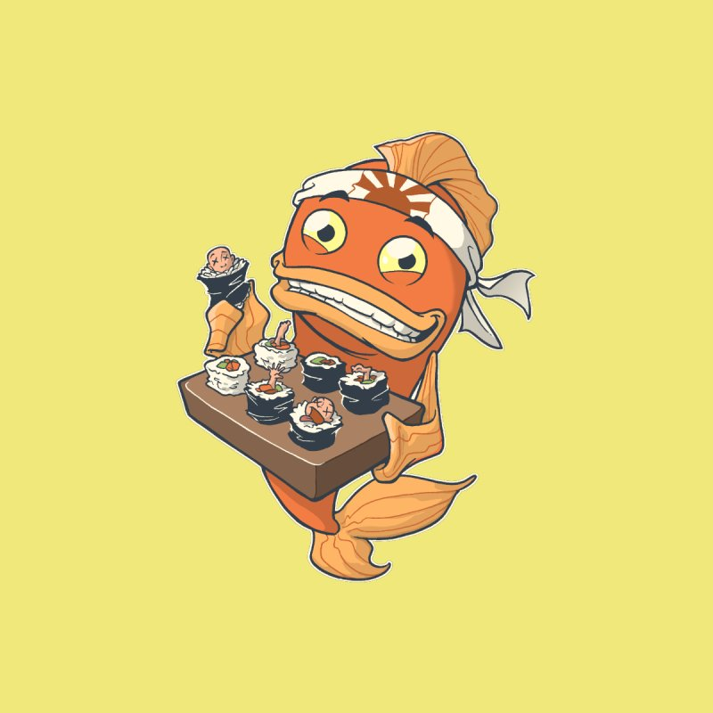 Sushi Fish by Dooomcat