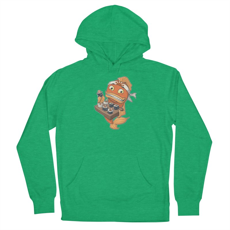 Sushi Fish Men's Pullover Hoody by Dooomcat