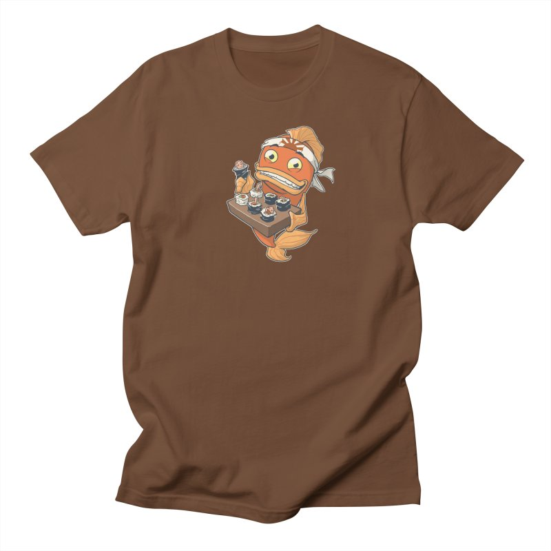 Sushi Fish Men's T-Shirt by Dooomcat