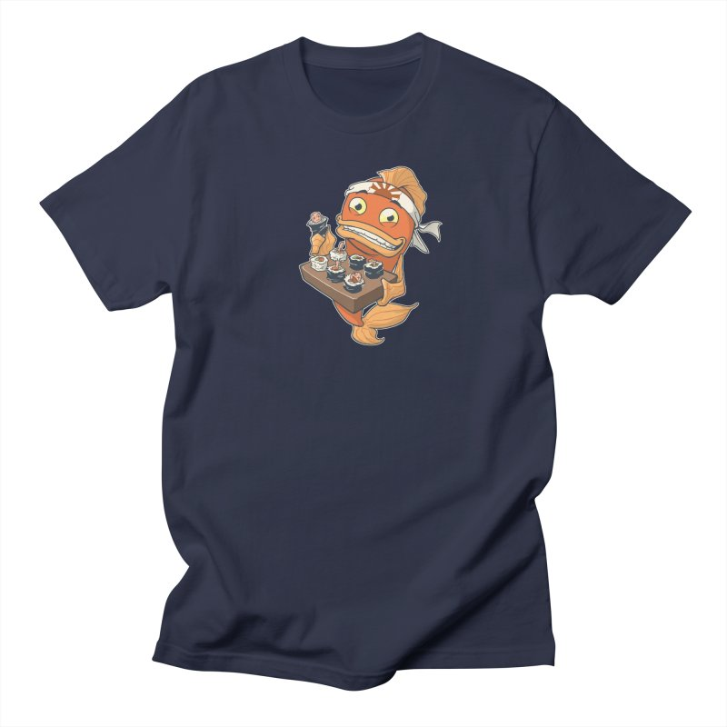 Sushi Fish Men's Regular T-Shirt by Dooomcat