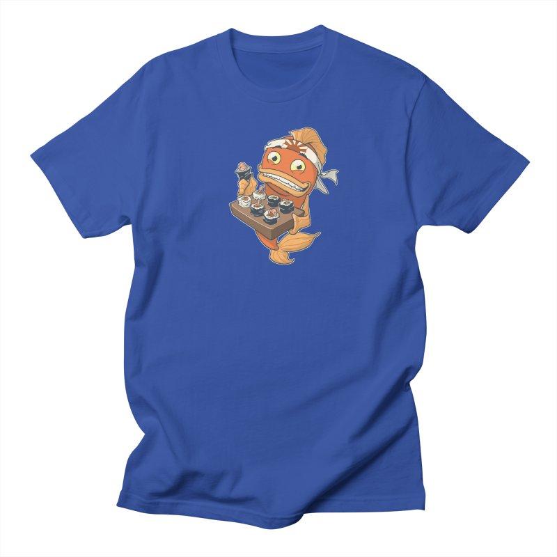 Sushi Fish Men's T-shirt by Dooomcat