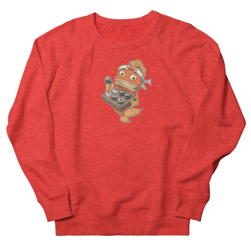 Sushi Fish Women's Sweatshirt by Dooomcat