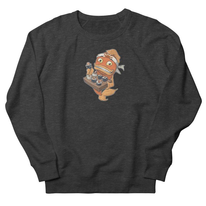 Sushi Fish Men's Sweatshirt by Dooomcat