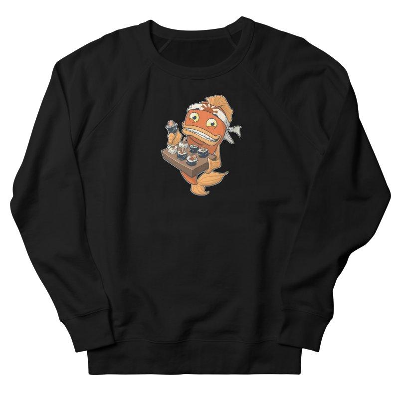Sushi Fish Men's French Terry Sweatshirt by Dooomcat