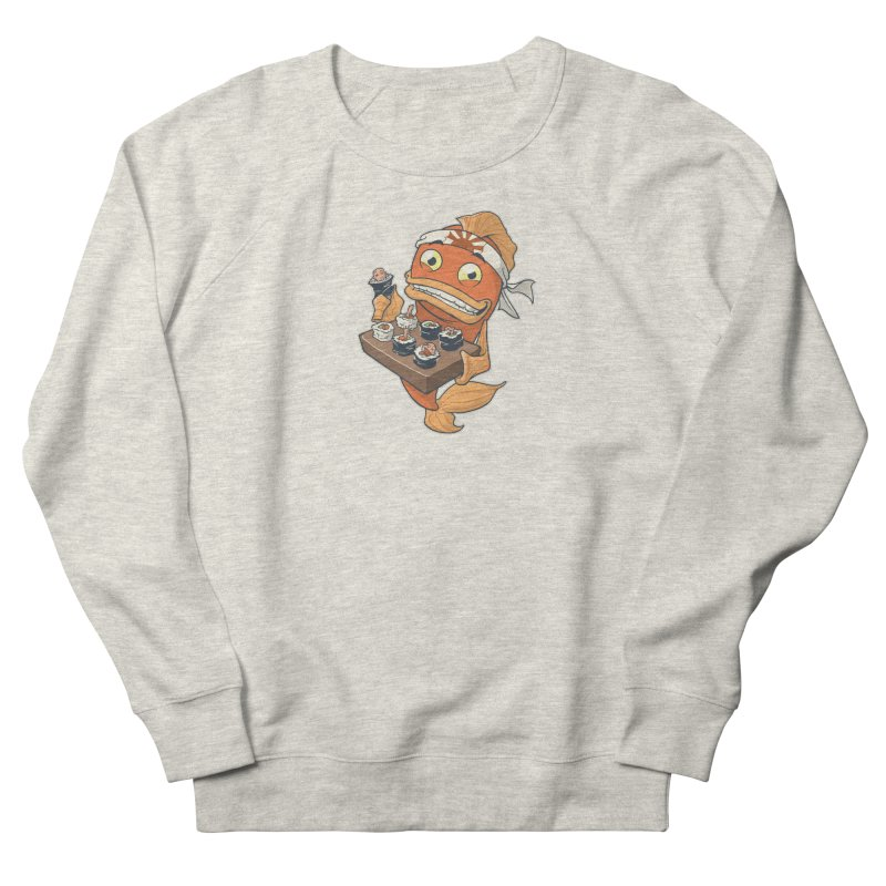 Sushi Fish Men's French Terry Sweatshirt by Dooomcat
