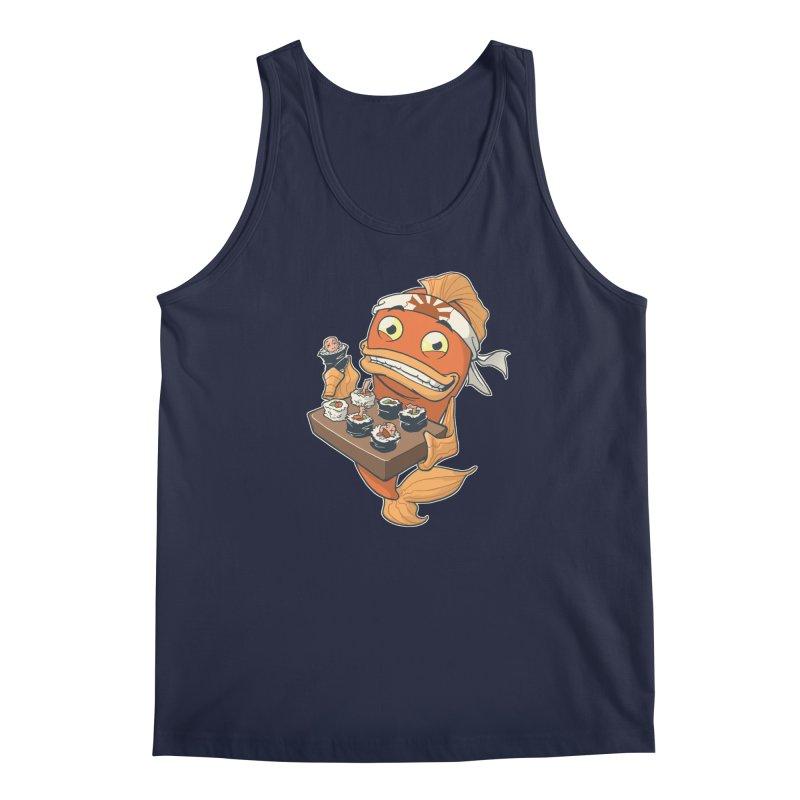 Sushi Fish Men's Regular Tank by Dooomcat