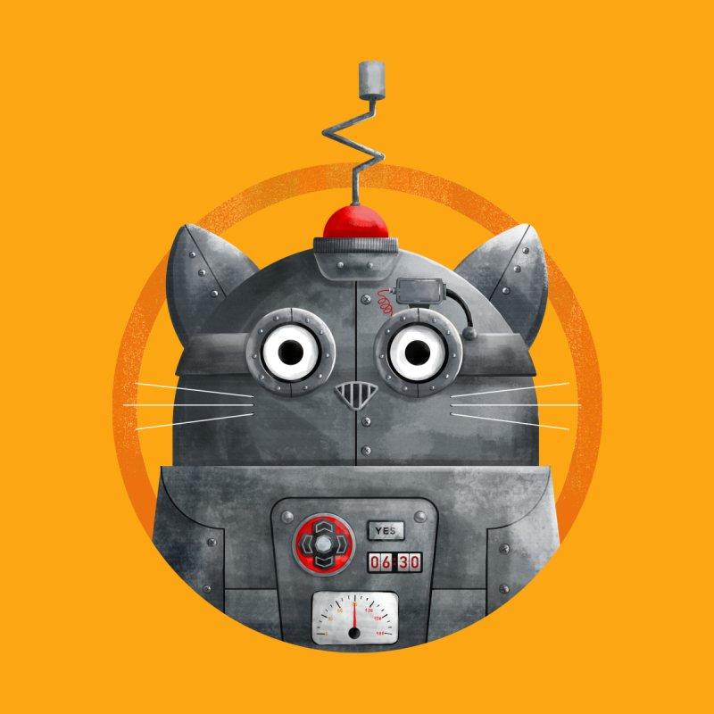 Cat Robot - C.A.T. Accessories Mug by DOOZAL