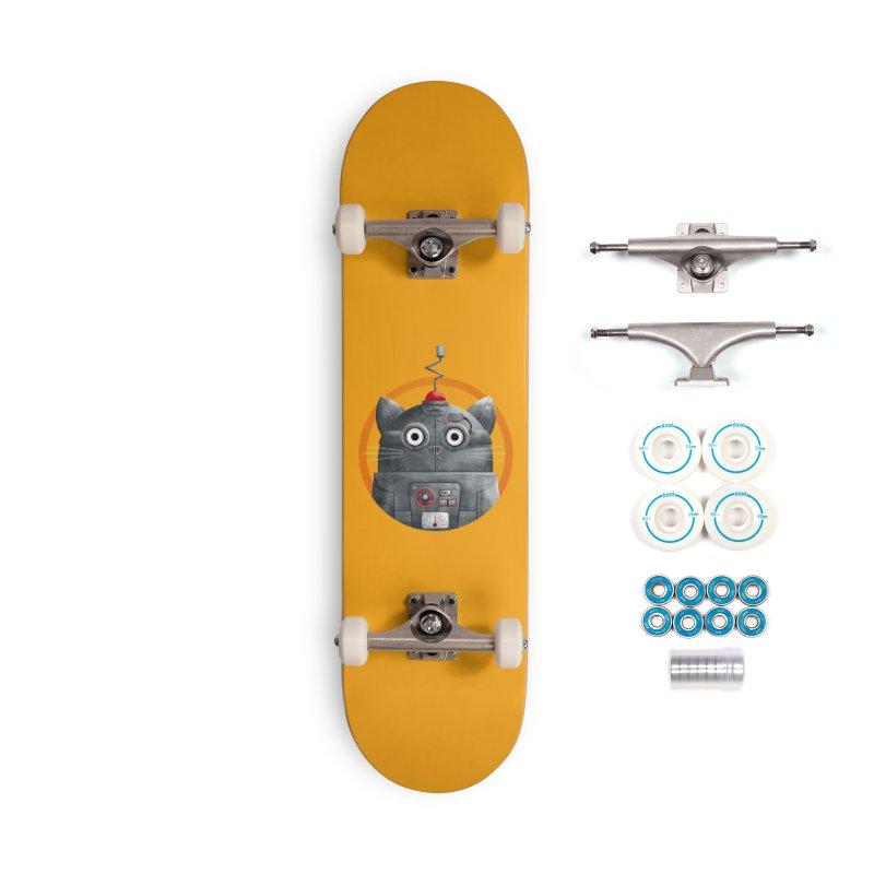 Cat Robot - C.A.T. Accessories Skateboard by DOOZAL