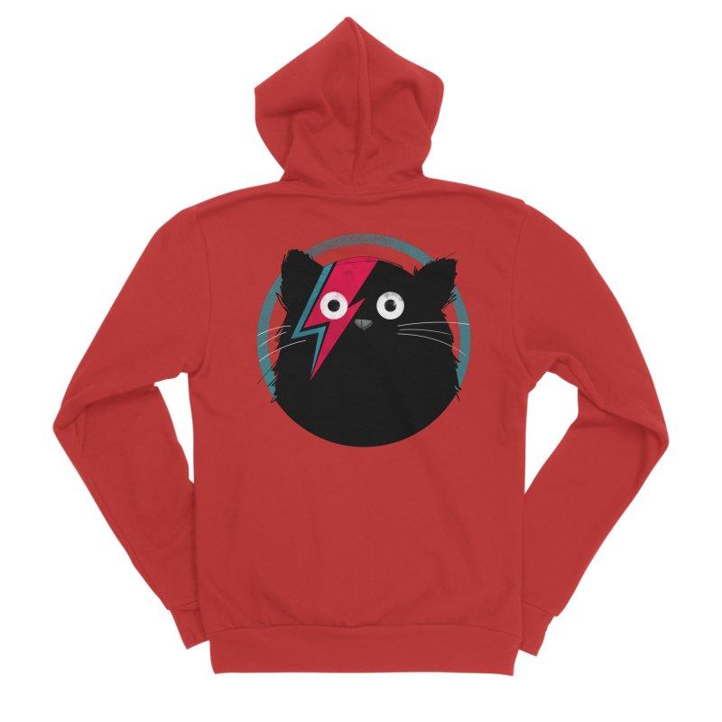 Cat Bowie Men's Zip-Up Hoody by DOOZAL