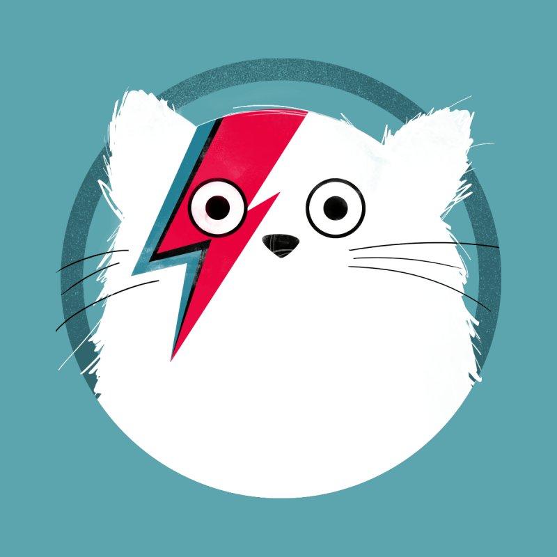 Cat Bowie - White Accessories Skateboard by DOOZAL
